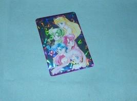 Sailor Moon Rare manga prism sticker card inner  group  half sexy sailormoon - $48.98