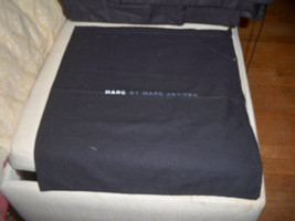 AUTHENTIC NEW MARC BY MARC JACOBS Black dust bag cover travel ~NEVER USE... - $8.90