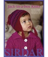 Jack in the Box Knits in Baby Bamboo DK from Sirdar 378 - $12.45