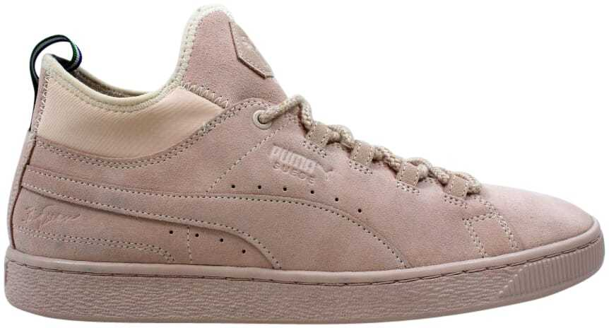 Puma Suede Mid Big Sean Shell/Shell 366252 01 Men's Size 10.5