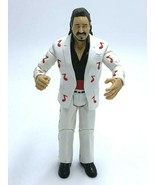 WWE Jimmy Mouth Of The South Hart Action Figure White Red Music Notes 2004 - $14.99