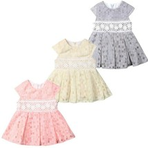 Baby Girl Toddler Party Dress Pageant Wedding Birthday Princess Christening - $13.85