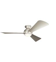 Kichler 330152NI Sola Ceiling Fans 54in Brushed Nickel Steel 1-light - $369.00