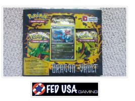 Pokemon Dragon Vault Blister Pack Druddigon Promo, 3 Booster Packs Pokem... - $37.95