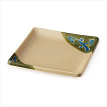 Traditional 7 inch Square Plate Melamine/Case of 12 - $123.41