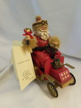 "Kurt S. Adler KSA Fabriche W1580 Santa in Car ""Holiday Drive"" - $18.76"