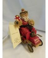 """Kurt S. Adler KSA Fabriche W1580 Santa in Car """"Holiday Drive"""" - $18.76"""