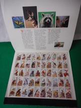 1987 American Wildlife Mint Stamp Sheet NH VF Original Folder - $19.55