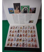 1987 American Wildlife Mint Stamp Sheet NH VF Original Folder - $19.55
