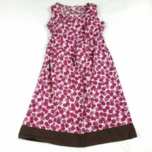 Motherhood Maternity Dress Medium Pink Above Knee Polka Dot Geometric Wo... - $10.78