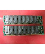 Motorola 30 pin memory 2-1mb modules 70ns 2mb total - $6.93