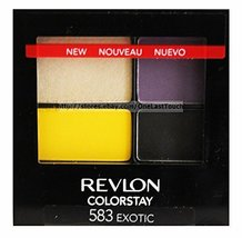 2 Pack- Revlon Colorstay 16 Hour Eye Shadow #583 Exotic - $29.00