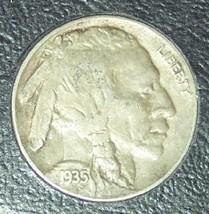1935 Buffalo Nickel EF FULL HORN #1205 - $3.99