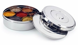Stainless Steel Spice Box with Steel Lid - $52.60