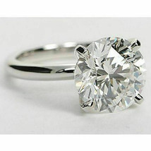 3CT Charles and Colvard DEF Forever One Moissanite Solitaire Ring 14K White Gold - €582,70 EUR
