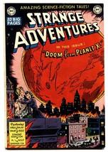 STRANGE ADVENTURES #2 comic book 1950-DOOM FROM PLANET X-DC COMICS FN+ - $494.70