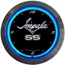 "Impala Neon Clock 15""x15"" - $69.00"