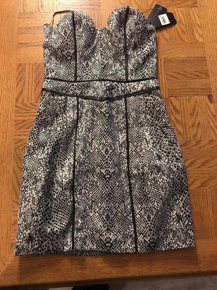 Guess Womens Black/White Strapless Dress Size 2. 1002 - $87.12