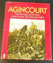 Agincourt: Triumph of Archery over Armor October 1415 SPI Award Nominee - $74.25