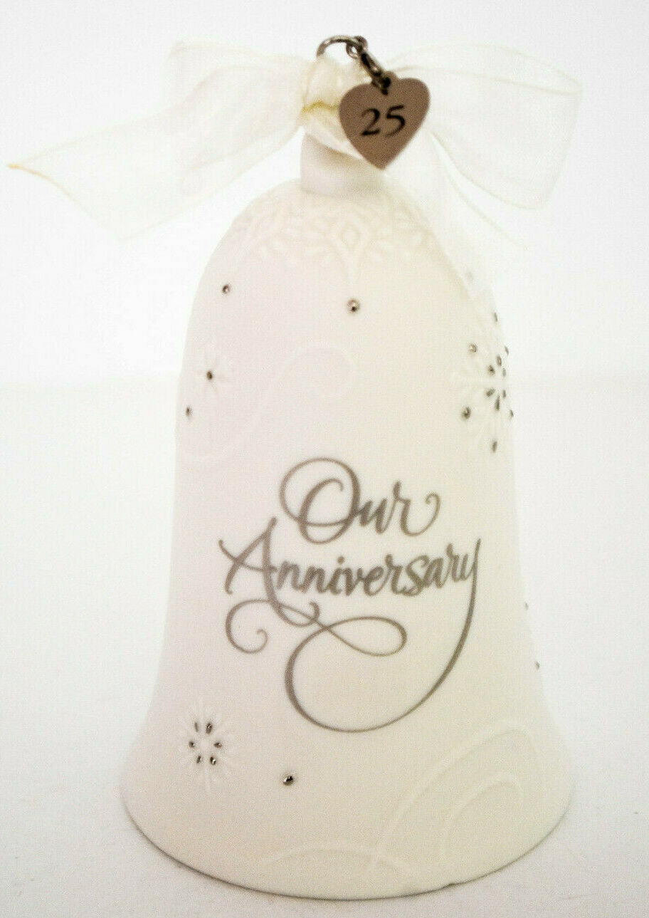 Hallmark: Anniversary Celebration - No CHARMS - Porcelain - NO DATE ON BELL image 3