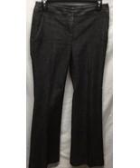 Kenneth Cole Reaction Womens Sz 2 Black Denim Jeans Cotton Blend - $13.99