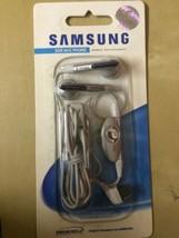 Genuine Samsung Silver Headphones AEP421SSE for E370 D500 D600 D720 E720... - $4.42