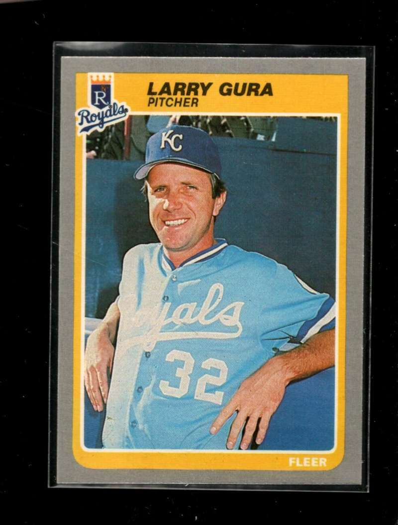 1985 FLEER #202 LARRY GURA NMMT ROYALS