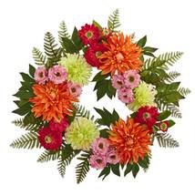 """20"""" Dahlia Wreath - $73.99"""