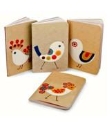Xenia Taler Mini Journal Set of 4 Fancy Chicks Notebooks Barnes & Noble ... - $14.84