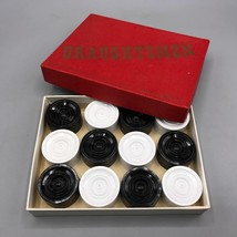 Vintage Plastic Draughtsman Draughts Checkers made in England - $24.74