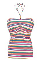 Freya Beach Candy AS3419 WP Underwired, Padded, Bandeau Tankini Top - $41.19