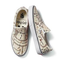 Vans X Harry Potter Marauders Map Classic Slip-On Men's & Women's Skate Shoes - $49.99