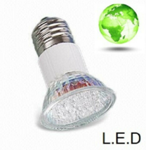 1 Pcs Lamp LED for JDR 120V Cover Glass Rangehood E27 48LED Epicure IVF1... - $32.00