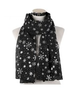 Scarf Winter Warm Cotton Soft Long And Cute Christmas/Xmas Scarf With Sn... - $13.97