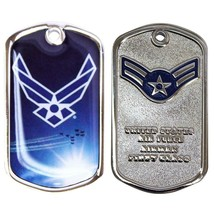 Army Coin: Airman 1ST Class With Plastic Sleeve - $17.80