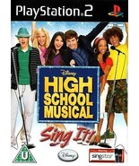 High School Musical: Sing It PS2 (Playstation 2) - Free Postage - UK Seller - $5.31