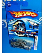 Hot Wheels 2006 First Editions #16 AMG-Mercedes CLK DTM Silver w/ 10SPs - $8.00
