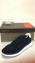 Vionic Women's Fresh Joey Lace-up Light Weight Walking Sneakers, Navy, US 7 M - $98.99