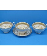 Spodes Garden By Spode 3 Footed Cups & 1 Saucer bundle of 4 pieces. - $32.49