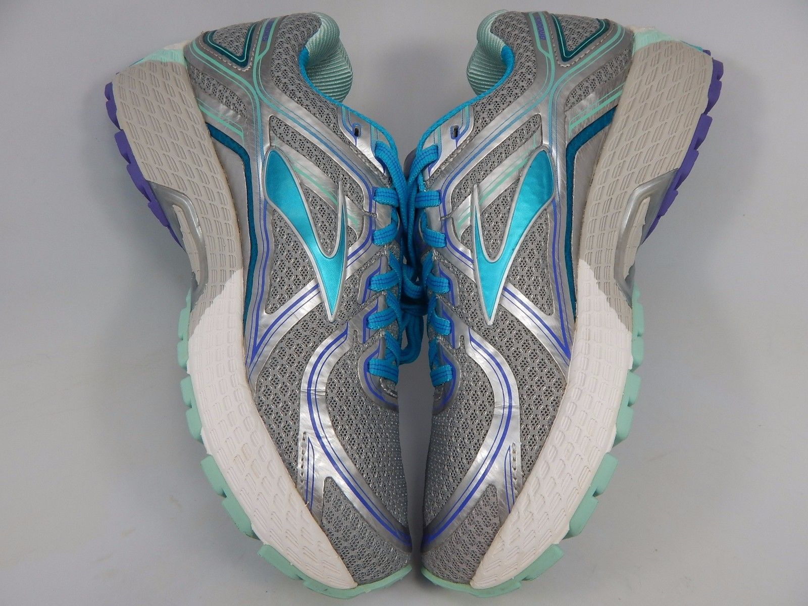 Brooks GTS 16 Women's Running Shoes Sz US 7.5 M (B) EU 38.5 Silver 1202031B170