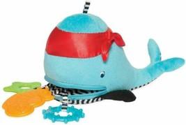 Manhattan Toy Waldon Whale Zip & Play Teether - $22.28