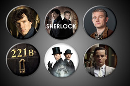 SHERLOCK Holmes magnets Set 221B TV Series Wats... - $9.99