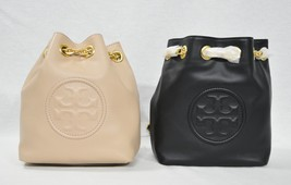 NWT Tory Burch Fleming Mini Backpack in Leather. Black Color OR New Mink... - $339.00