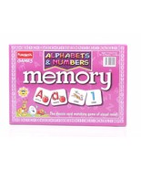 Funskool Memory Alphabets & Numbers Game Social Skills Players 2-4 Age 3+ - $14.21