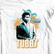 Miami Vice Tubbs T-shirt Free Shipping 1980's retro TV show cotton tee NBC224 image 1