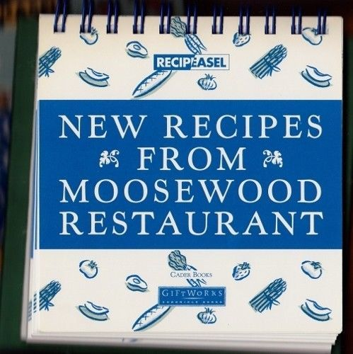 Region Cookbook New York NY Moosewood Restaurant Boxed Easel  Ethnic Vegetarian