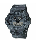 Casio G-Shock GA700CM-8A Grey Camouflage Resin Band Watch  - $85.09