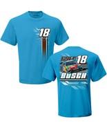 Kyle Busch #18 M & M's Toyota on a large hazelnut grn/blue tee shirt - $22.00