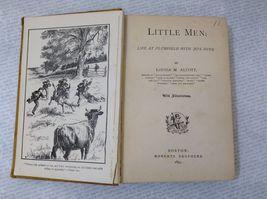 Little Men by Louisa M. Alcott Antique Hardcover Book image 8