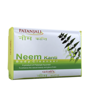 PATANJALI NEEM KANTI BODY CLEANSER SOAP BAR- 150gm  - $11.99+